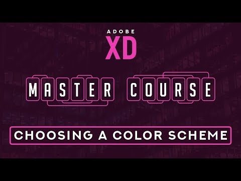 6. Choosing the Best Color Scheme for Designing in Adobe XD!