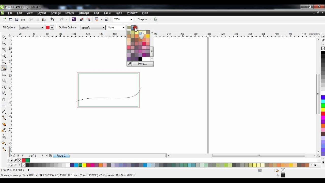 Corel draw tutorial on how to design a business card template youtube corel draw tutorial on how to design a business card template wajeb Images