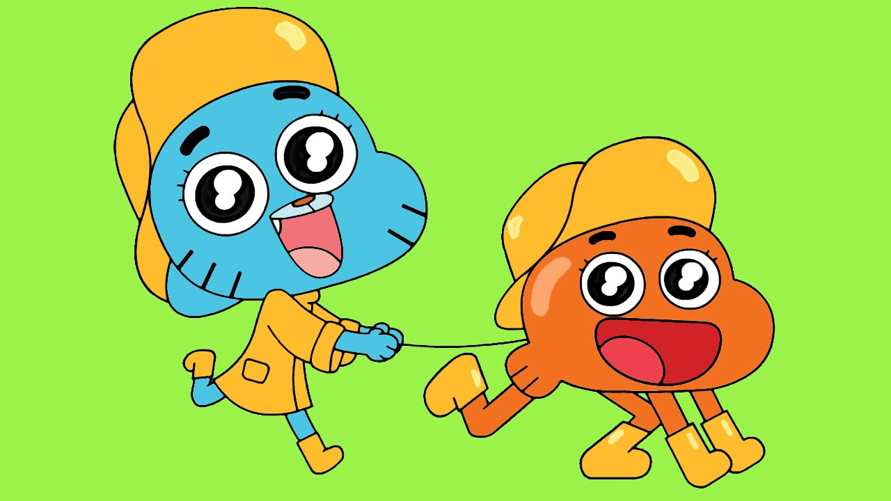 Gumball Coloring Pages For Kids Gumball Coloring Book Part 06