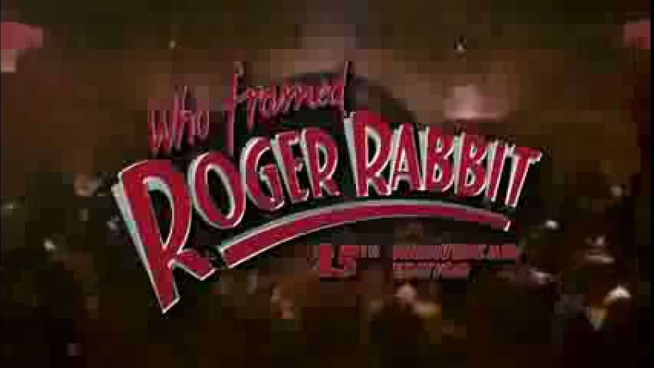 Who Framed Roger Rabbit? 25th Anniversary Blu-ray Trailer - YouTube