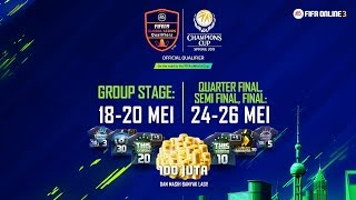 FIFA Online 3 EACC 2019 Group Stage  (Day 1)
