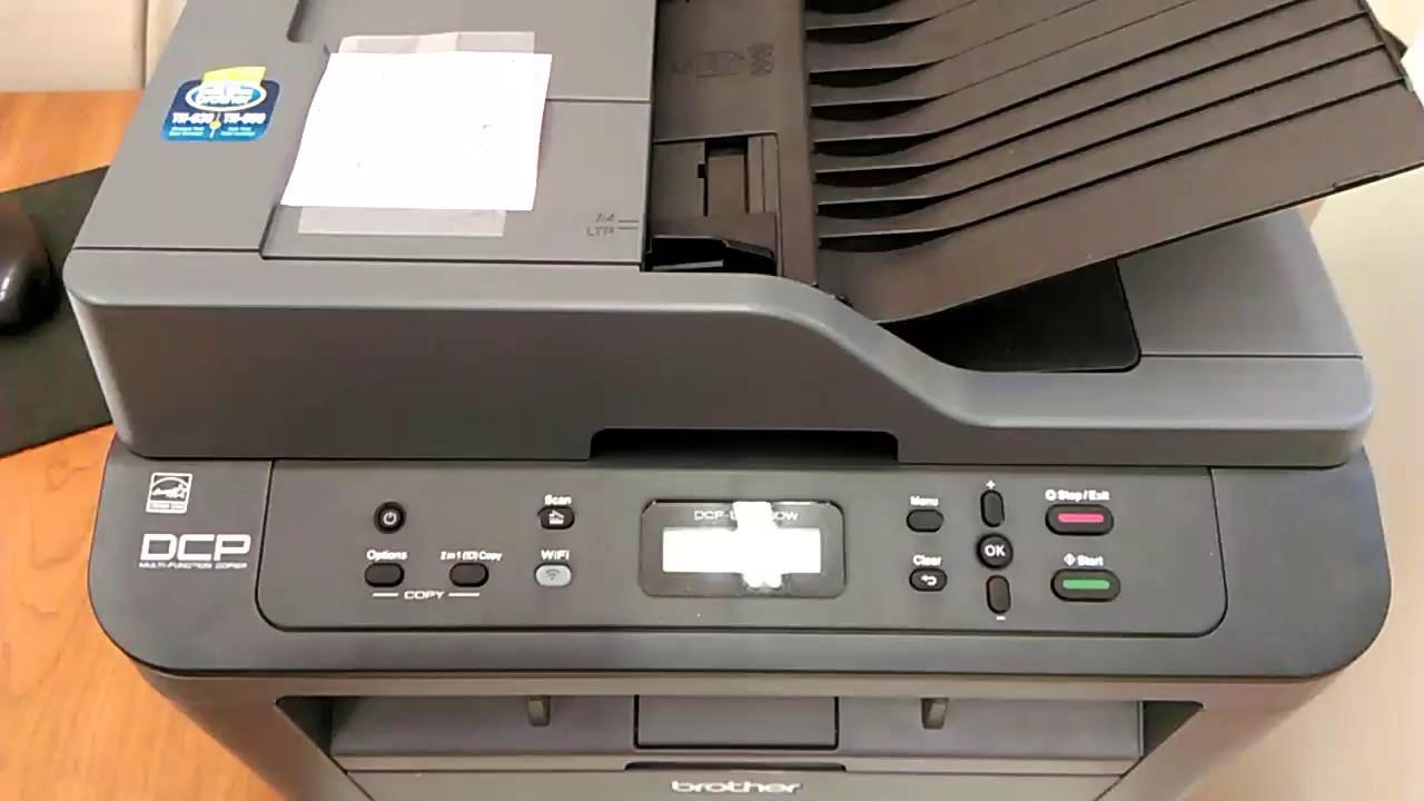 Brother DCP-L2540DW printer ink toner/ drum cartridge light reset