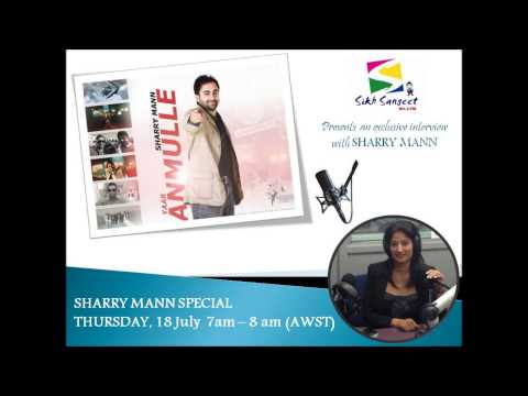 SHARRY MANN Exclusive interview18 JULY 2013 on 95.3 Perth FM