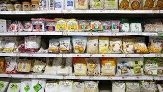 Korean Grocery Shopping: noodles, powders, grains,  beans, & seaweed Mp3