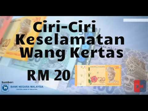 CIRI-CIRI KESELAMATAN WANG KERTAS RM20