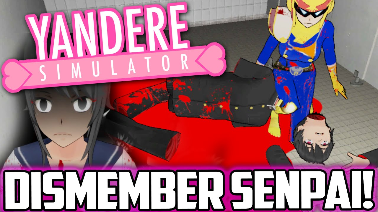DISMEMBER SENPAI & DEMON SUMMONING | Yandere Simulator How to Summon a  Demon Yandere Sim Kill Senpai