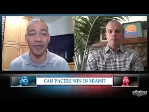 Can the Pacers Win in Miami? : Miami Heat vs Indian Pacers Playoffs 2014