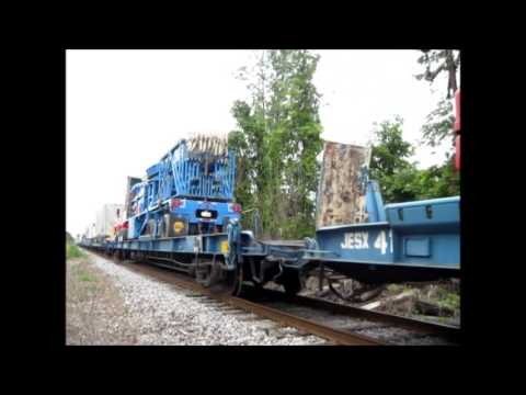 Departure of the Fair Train (Strates Shows) from Hamburg, NY, August 20, 2014