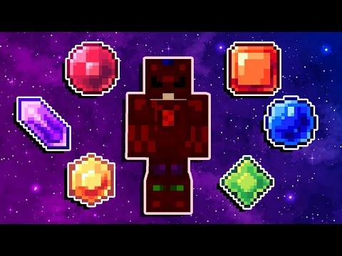 Minecraft Imortal #26: EU FIZ UMA ARMADURA COM AS JÓIAS DO INFINITO!