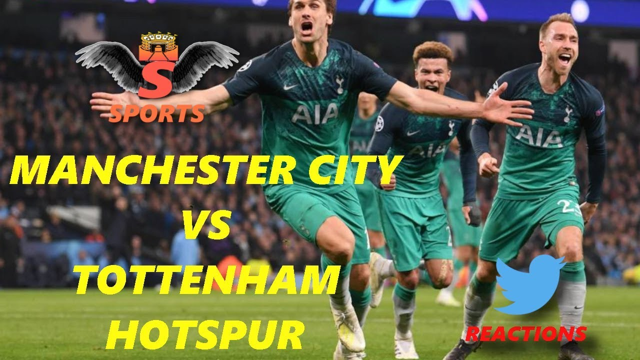Manchester City vs Tottenham (4-3) Twitter Reactions