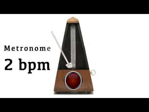 Metronome 2 bpm 🎼