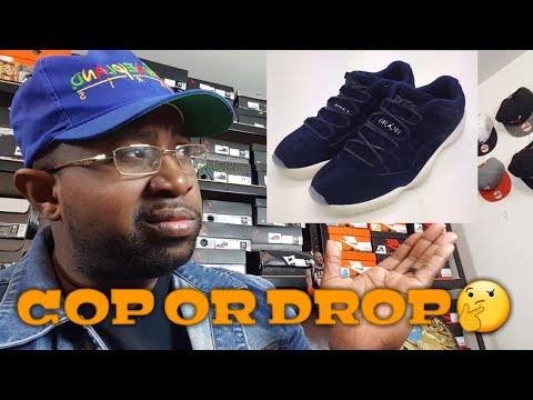 Air Jordan Derek Jeter Retro11 Low COP or DROP - YouTube 38180c182
