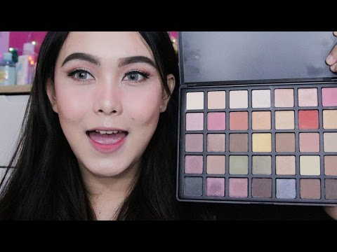 beauty creations eyeshadow pallete jasmin makeup tutorial