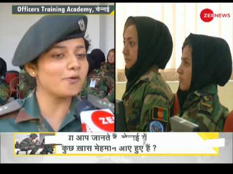 DNA Special: 20 Afghan women army officers arrive in India