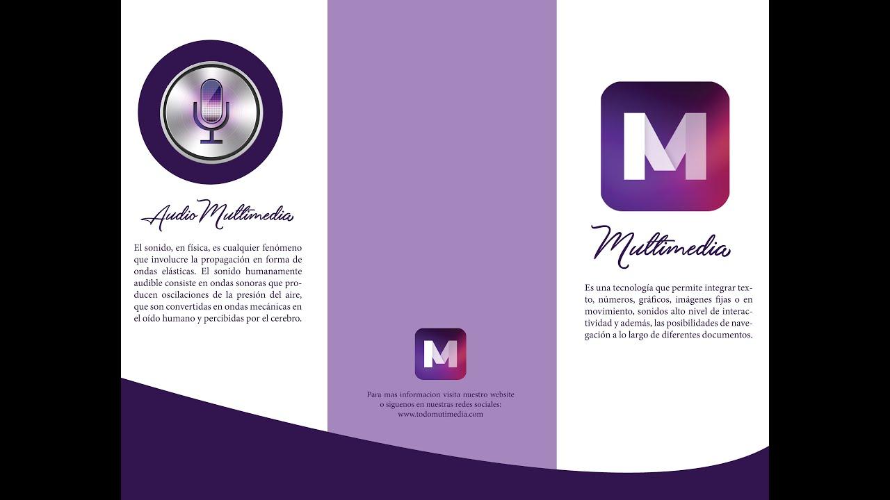 TUTORIAL-Como hacer un brochure en Indesign - YouTube
