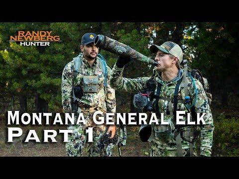 Montana General Elk, with Randy Newberg's Crew - Part 1