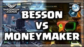 Broken Legendary?? O.G. Money Maker VS Besson's Killer - Shadowgun Legends best snipers
