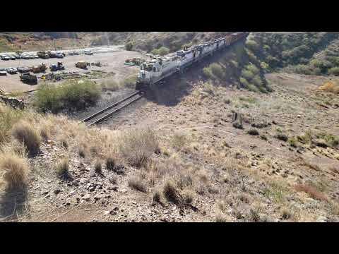 Freeport McMoRan Industrial Railroad Morenci, AZ