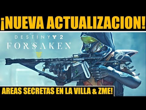 Destiny 2: Nuevas Areas en la Villa & ZME! Nueva Actualización! Bungie Responde! Arreglos de Poder! thumbnail