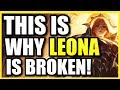(NEW BUFFS) THIS IS WHY LEONA SUPPORT IS INSANELY OP! | #1 SUPPORT IN SEASON 9 AFTER BUFFS!