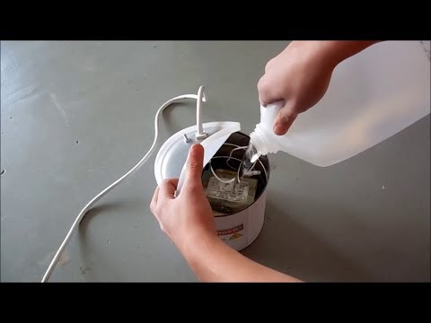 Putting A High Voltage Microwave Transformer In Oil