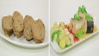 سمك بوري بصوص الفوليتيه و وصفات اخرى   طبخة ونص الحلقة كاملة