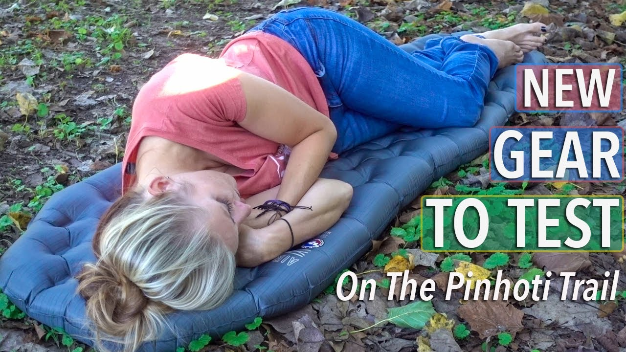 New Sleeping Pad, Trekking Poles, Down Jacket, Pillows, Socks, and Trail Runners For The Pinhoti