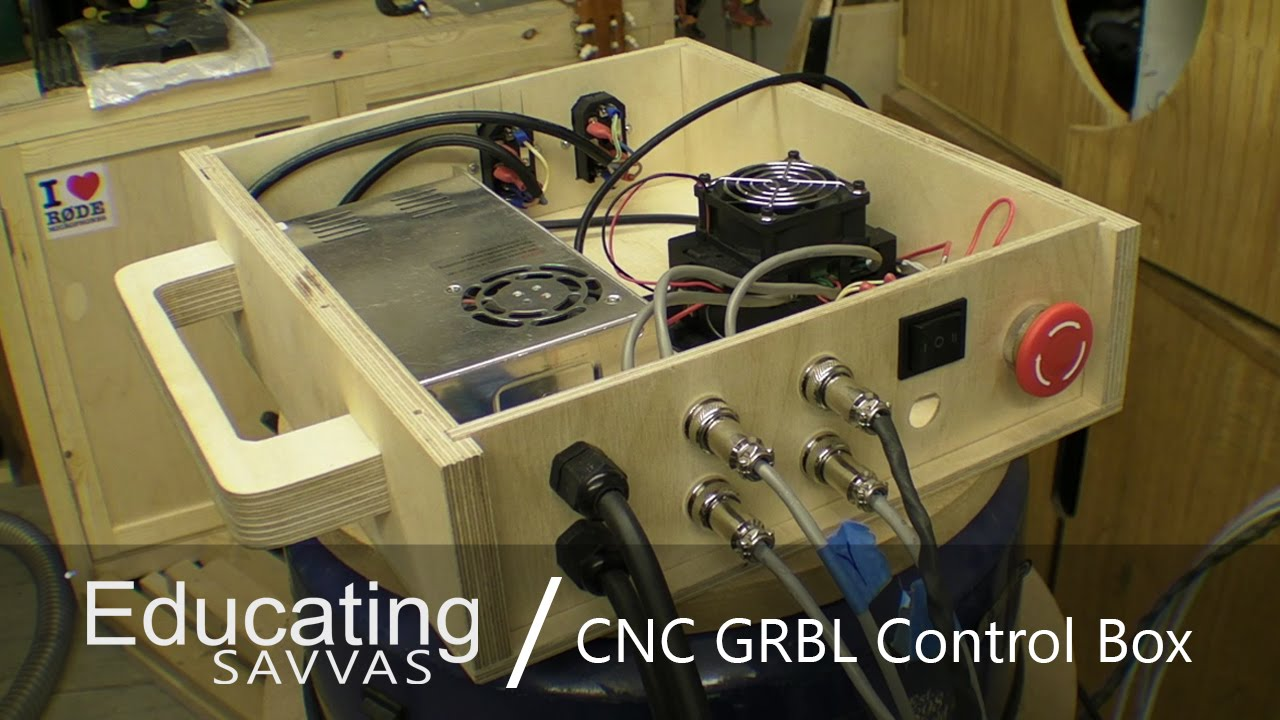 CNC GRBL Control Box with Relay Module / X Carve Controller