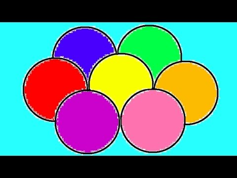 Thumbnail: Learn Colours For Children With Balls Colouring Pages