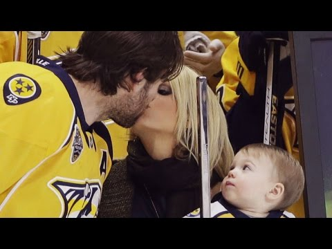 Carrie Underwood And Son Isaiah Adorably Celebrate Dad Mike Fisher's 1,000th NHL Game