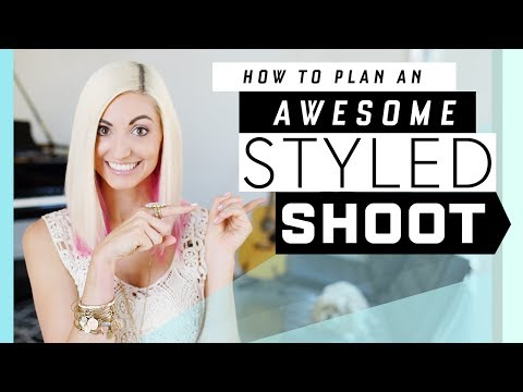 How to Plan a Styled Shoot! (+PDF Checklist) // Build ur wedding photography portfolio