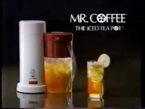 1991 Mr. Coffee Ice Tea Maker TV Commerical