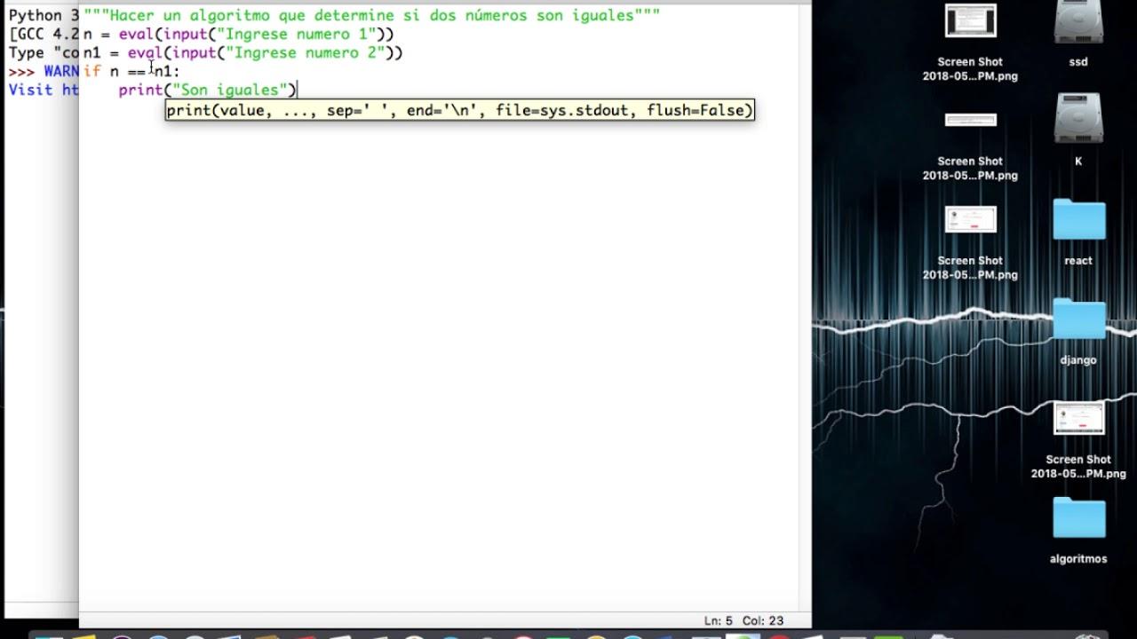 Ejercicio 2 Estructura Condicional Simple En Python