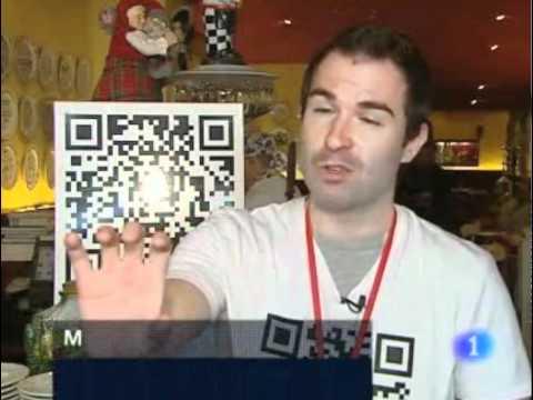 Reportatge sobre els codis QR a TVE (27.03.2009)