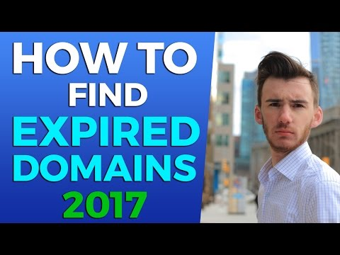 Finding Expired Domain Names For Free - Revised 2017 Version