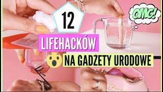 12 TRIKÓW/LIFEHACKÓW NA GADŻETY URODOWE ! | lamakeupebella