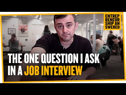 The One Question I Ask in a Job Interview