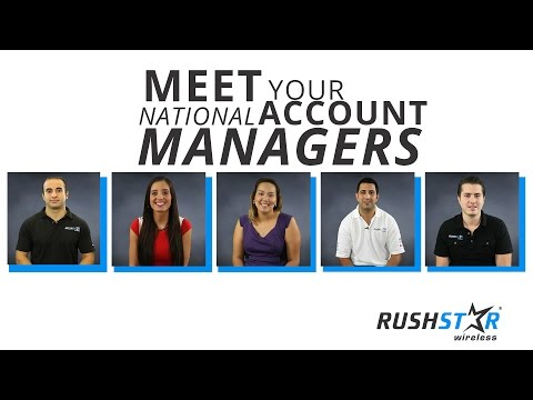 Introducing Your National Account Managers