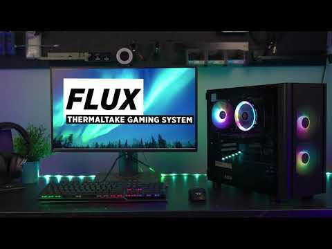 Thermaltake Flux Gaming PC - Intel i3 10105F | GeForce 1030 - Video