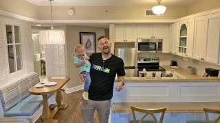 Disney's Beach Club Staycation Check In Day! | New Stroller, Vacationing With A Toddler & Room Tour!