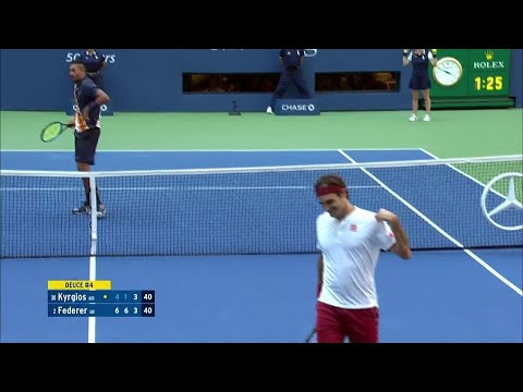 Top 10 Plays Of Week 1: 2018 US Open