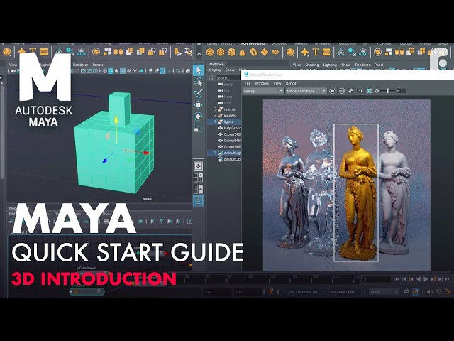 Introduction to Maya - 1 Hour Quick Start Guide