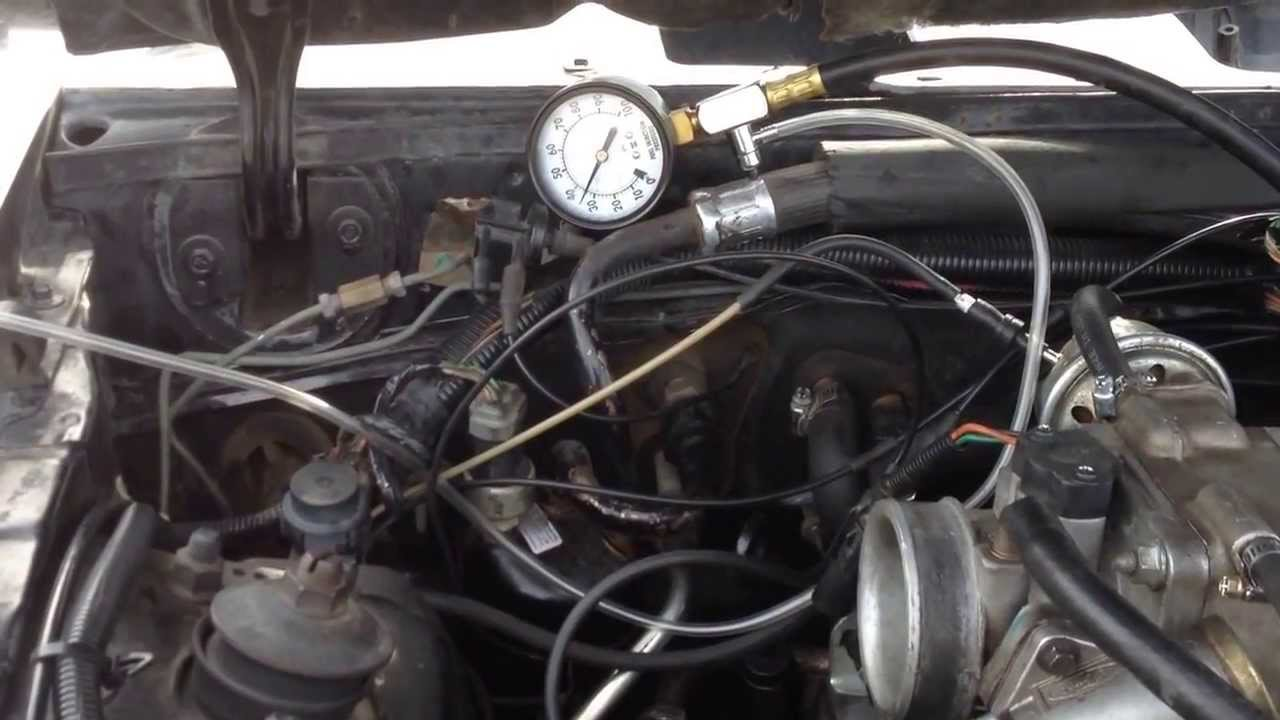 How To Test Fuel Pump >> 1986 Mustang GT 5.0 Fuel Pressure Test after Fuel Pump ...