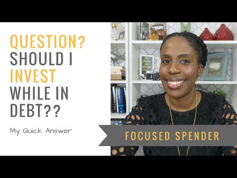 Question - Should You Invest While Paying Off Debt?