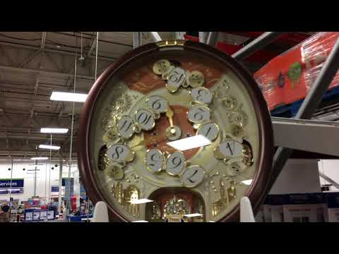 2017 seiko collectors ed clock at sams club