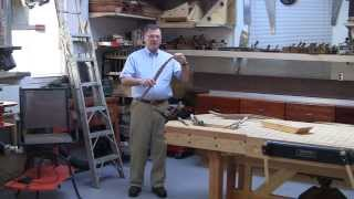 Foster Workbench - Using The Emmert Pattern Makers Vise To Hold Sculptured Furniture Parts