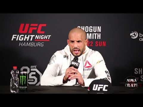 Abu Azaitar UFC Fight Night Hamburg Post Fight Press Conference