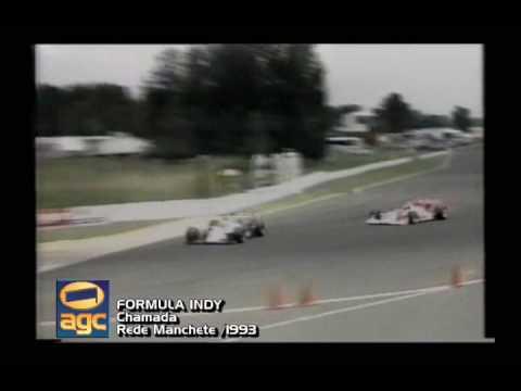 Chamada Formula Indy - 1994 - Rede Manchete