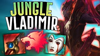 VLADIMIR IN THE JUNGLE?! - League of Legends