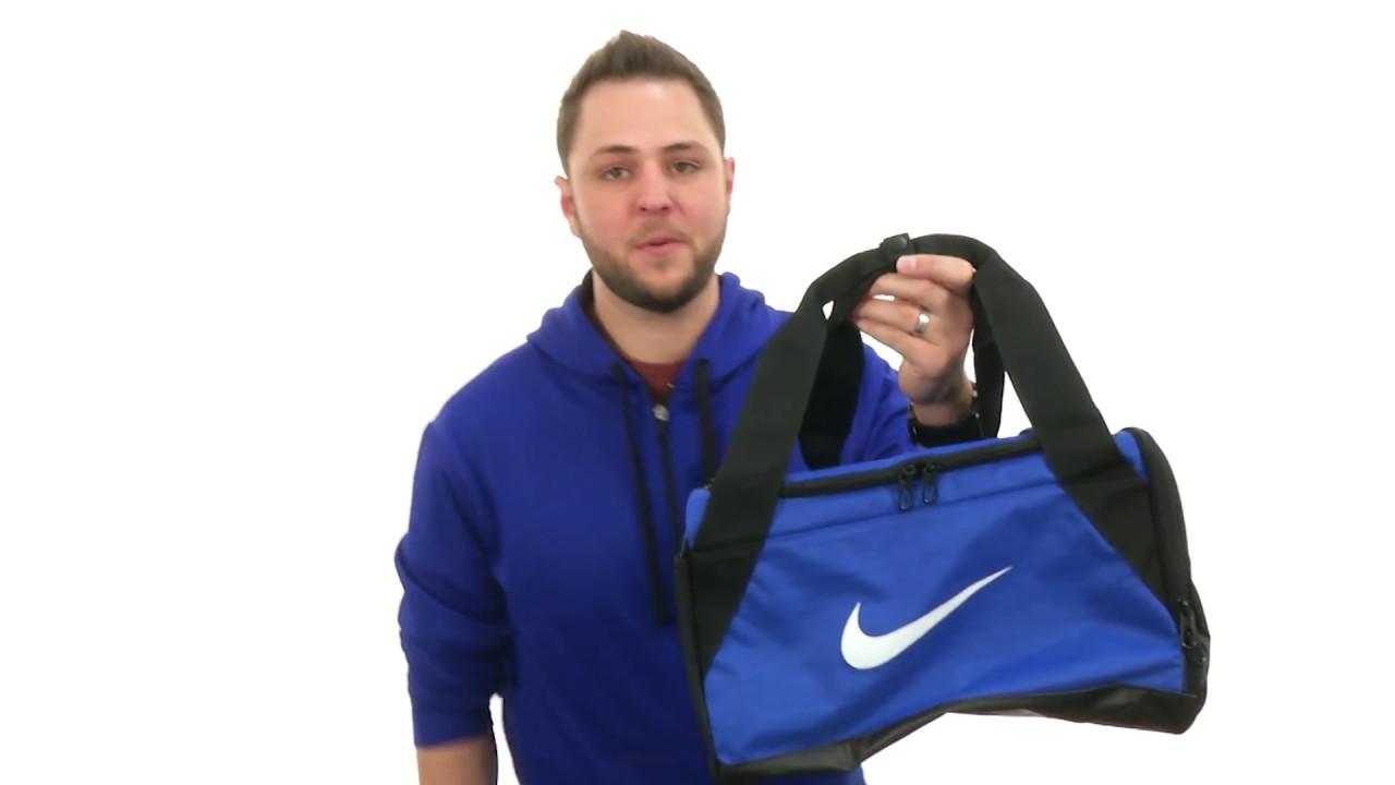 Nike Brasilia Duffel Extra Small SKU 8800613 - YouTube 0be8db23ec79